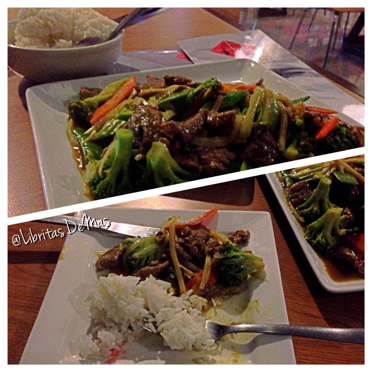 Comiendo Bamboo!! … Buddha Lounge