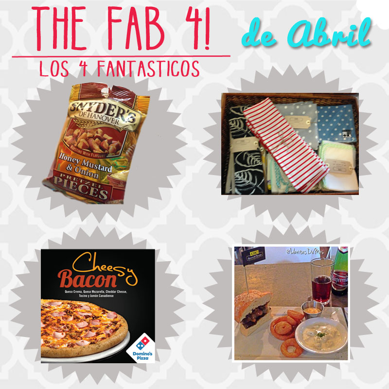 Abril, comida, 4, fantasticos, The, fab, four, Abril,