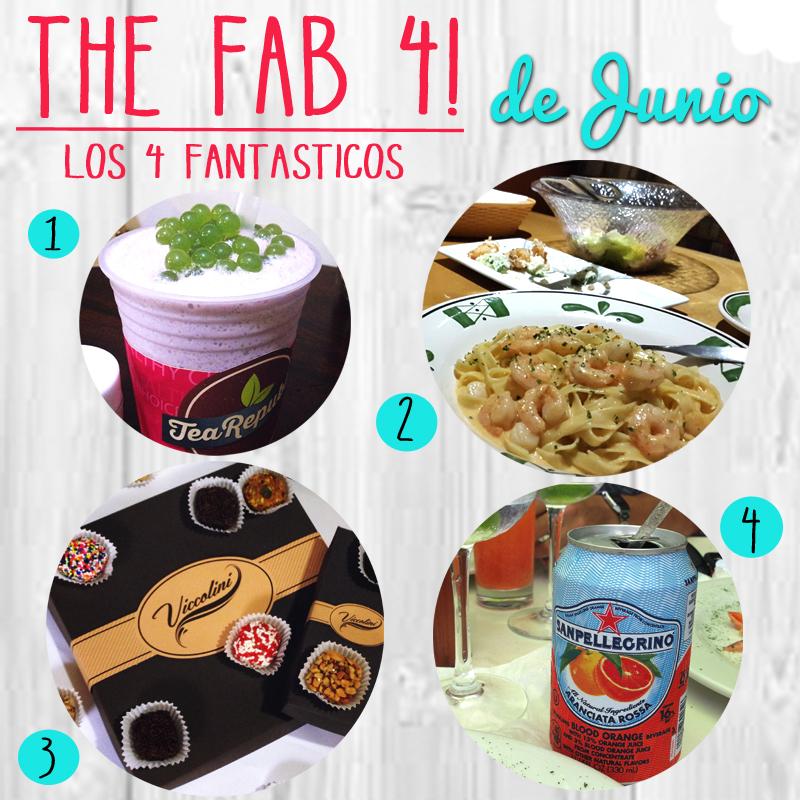Los 4 Fantasticos… de Junio!
