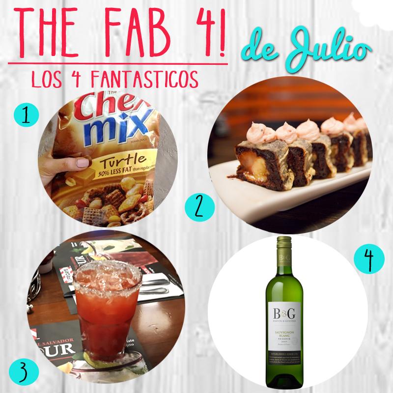 Los 4 Fantasticos… de Julio!