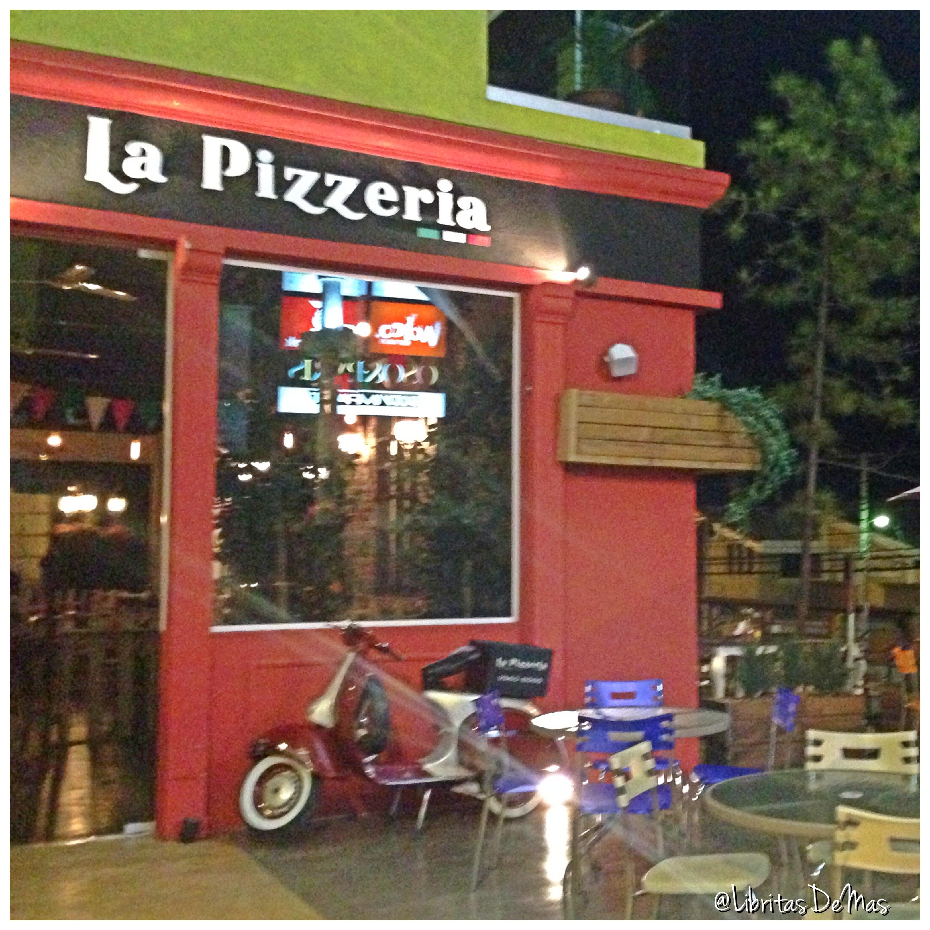 ¡Por fin! El Food Review de La Pizzeria… Mejor tarde que nunca.