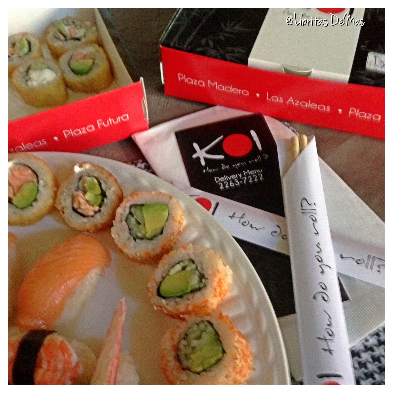 Chambriadita con las besties… Koi Sushi …