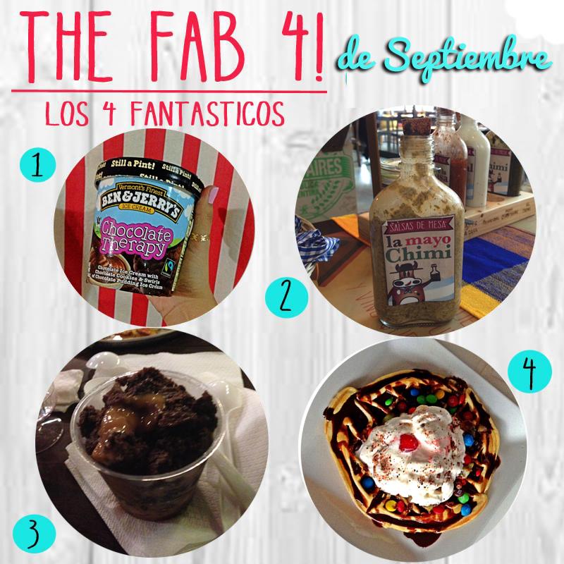 Los 4 Fantasticos… de Septiembre!