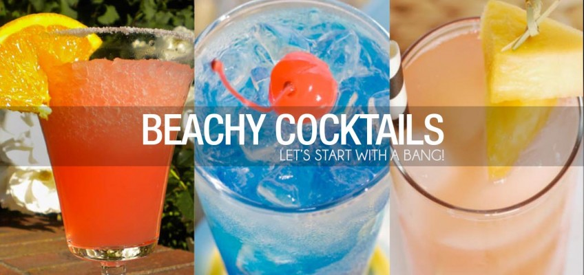 #ThrowBackThursday BEACHY COCKTAILS!
