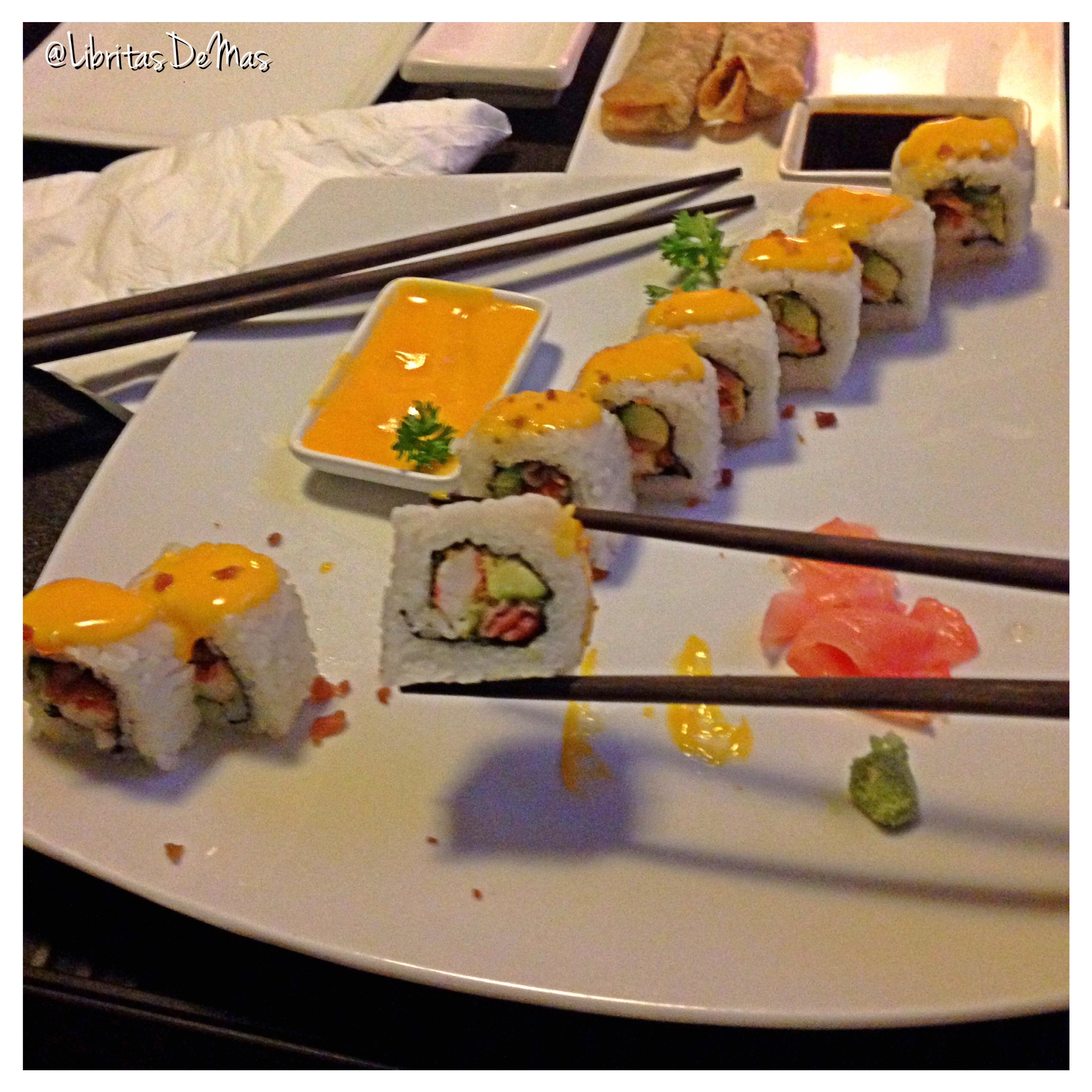 ¡Next Stop! en el #TourGastronomico con Latín City Pass:  Maki Sushi