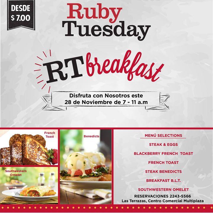 Ruby Tuesday, libritas