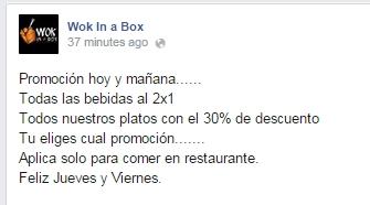 wok in a box , libritas