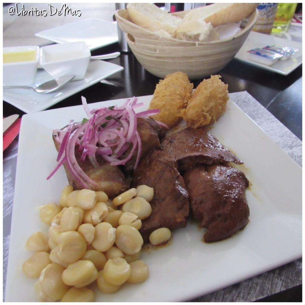 Machu Chicken, Libritas de Mas, comida peruana