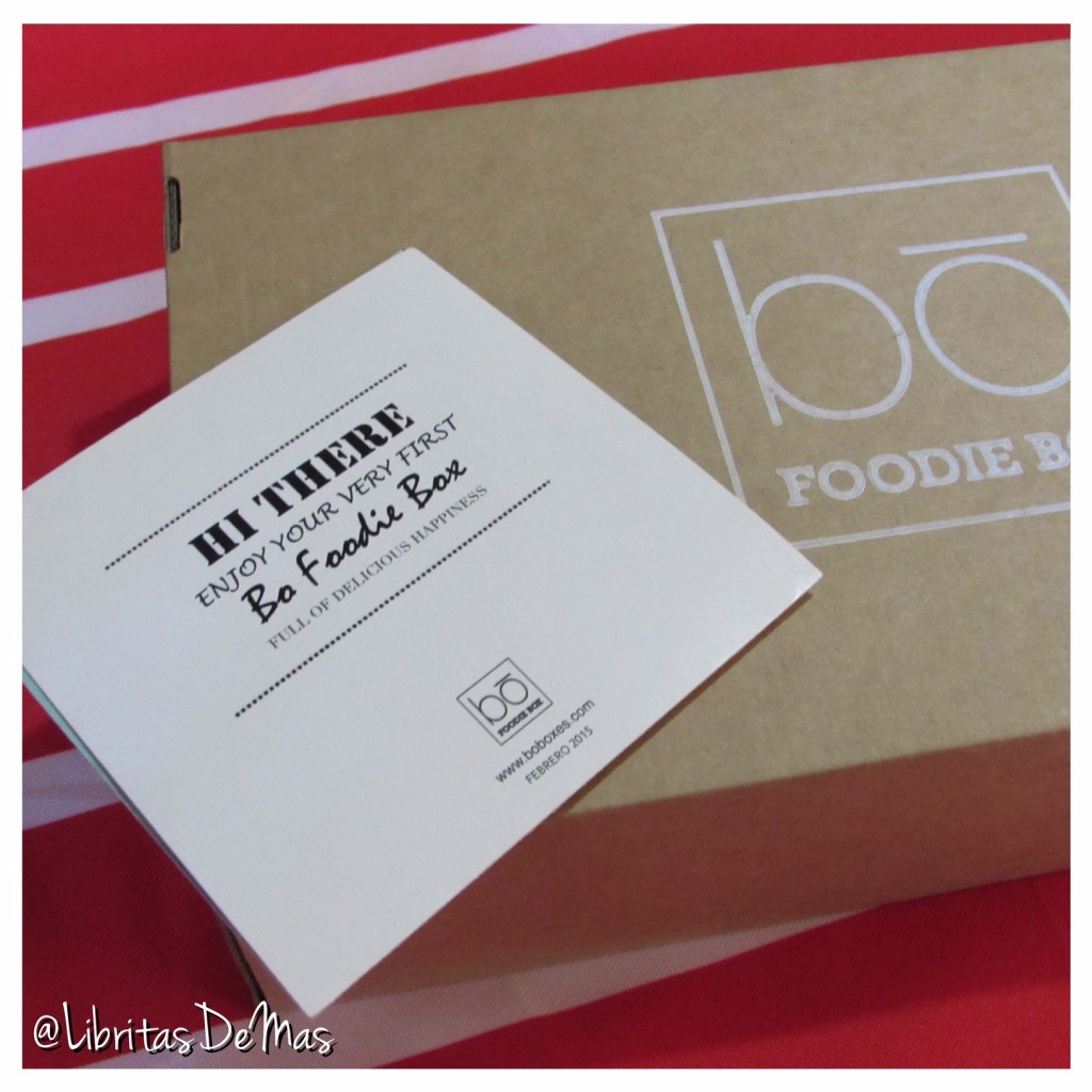 Bo Foodie Box, Libritas de Mas, Food Blog
