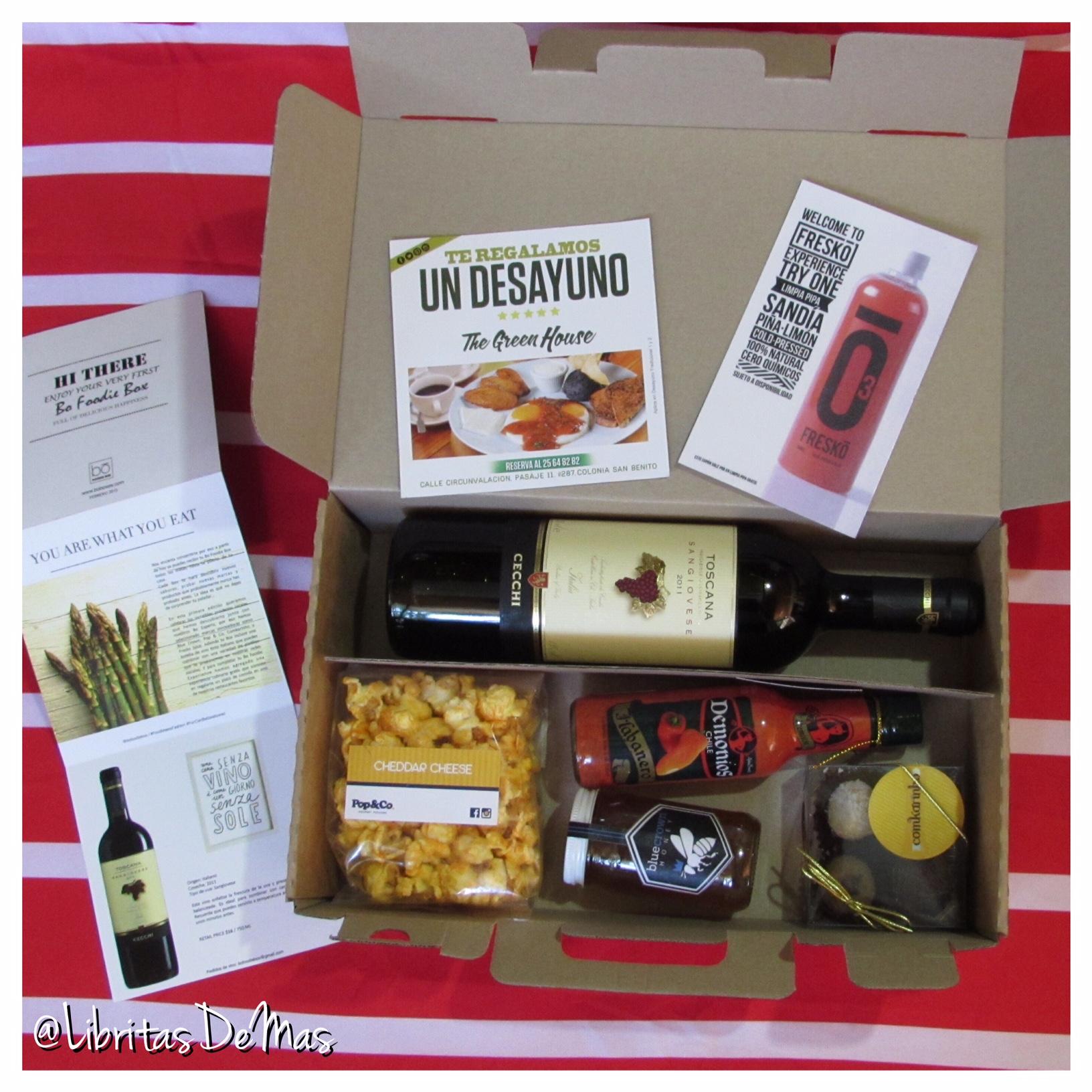 """De las creadoras de Bo Beauty Kit llega la """"Bo Foodie Box """""""