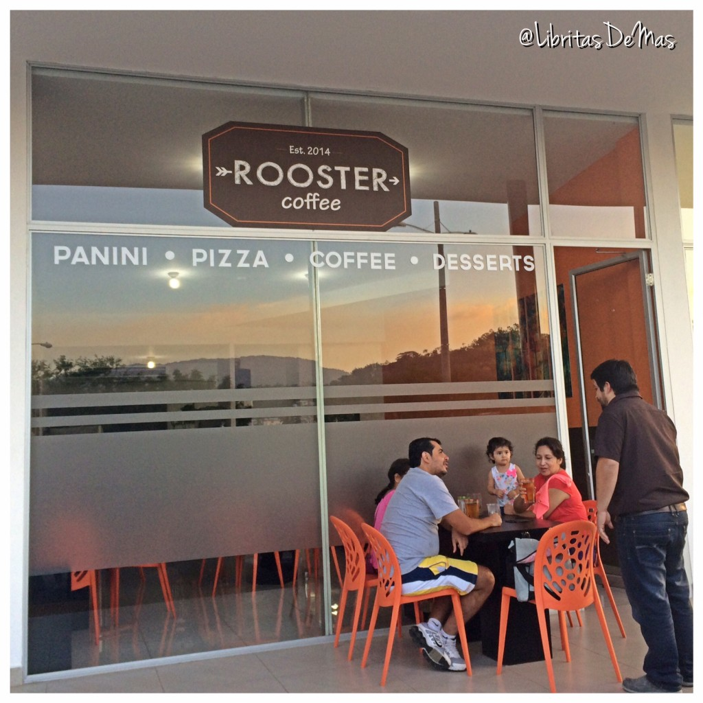 Rooster Coffee, Libritas de Mas, food blog, el Salvador, restaurante