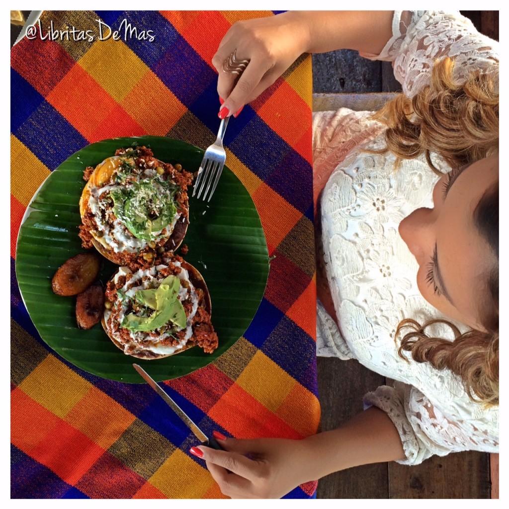 El Zocalo, Libritas de Mas, restaurante, el salvador , food blog, desayuno, comida salvadoreña