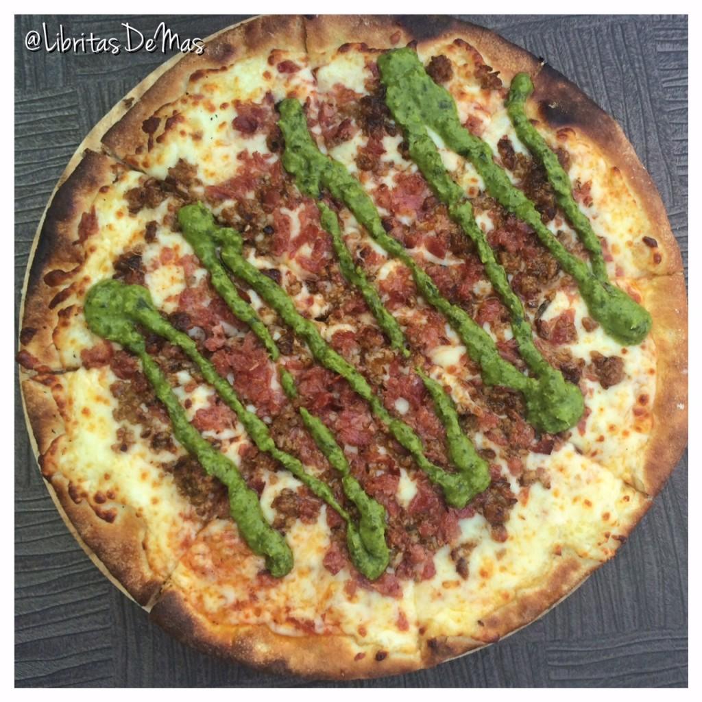 La Pizzeria, pizza, Libritas de Mas, restaurante, el salvador , food blog, desayuno, comida salvadoreña