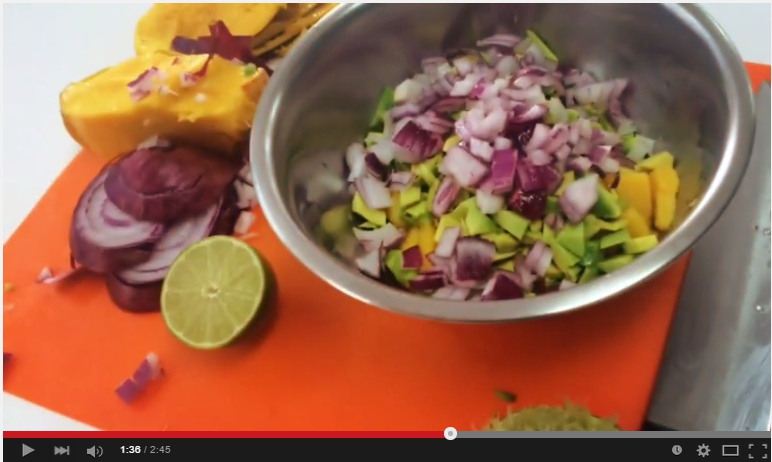 "#HappyRecipes … ""Una ensalada espectacular"""