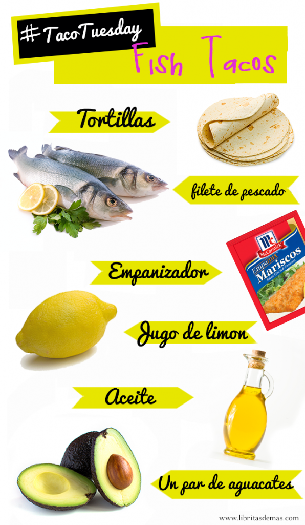 fish tacos, taco tuesday, recipe, receta, cocina, pescado, tacos de pescado, taco tuesday, food blog, libritas de mas