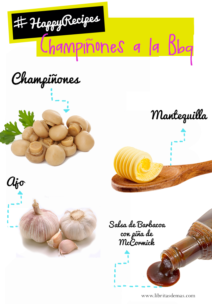 champiñones, receta, libritas de mas, food blog, el salvador, recipe, mushrooms