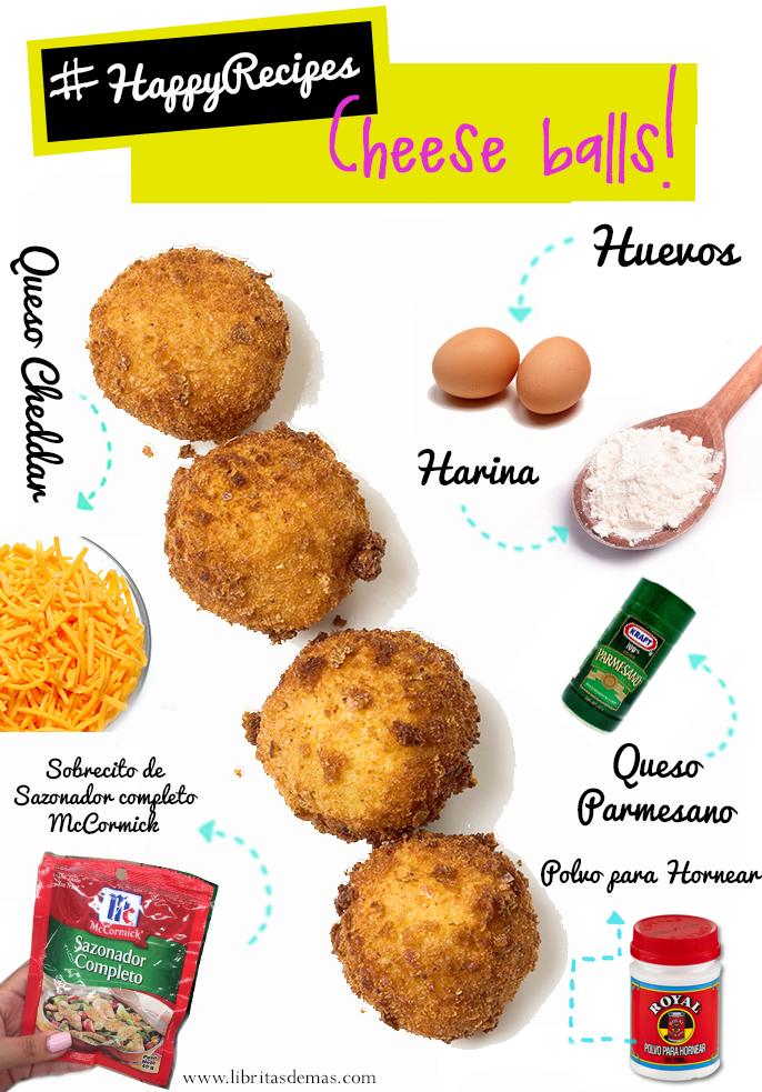 ¡A todo el mundo le encantan las Cheese Balls! #HappyRecipes