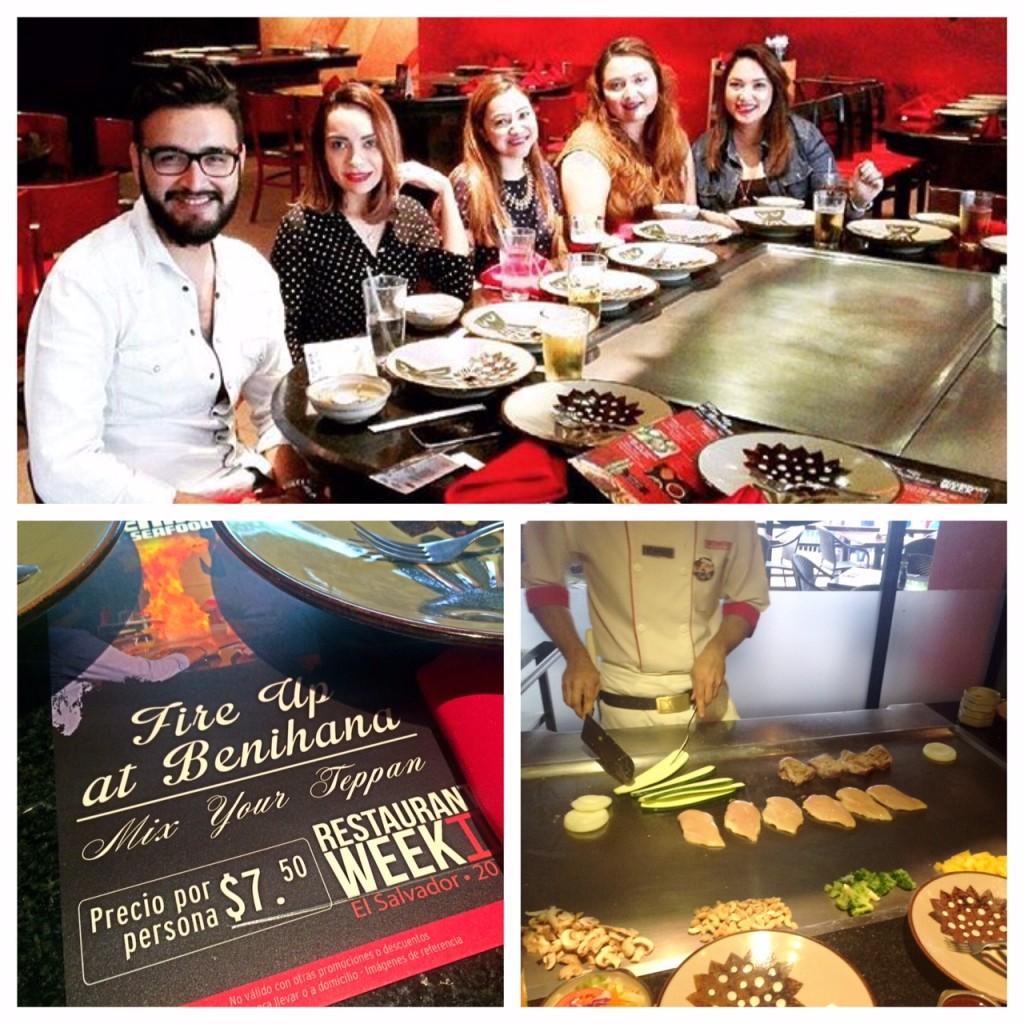 El Salvador, bloggers, restaurant week, food blog, libritas de mas, restaurante