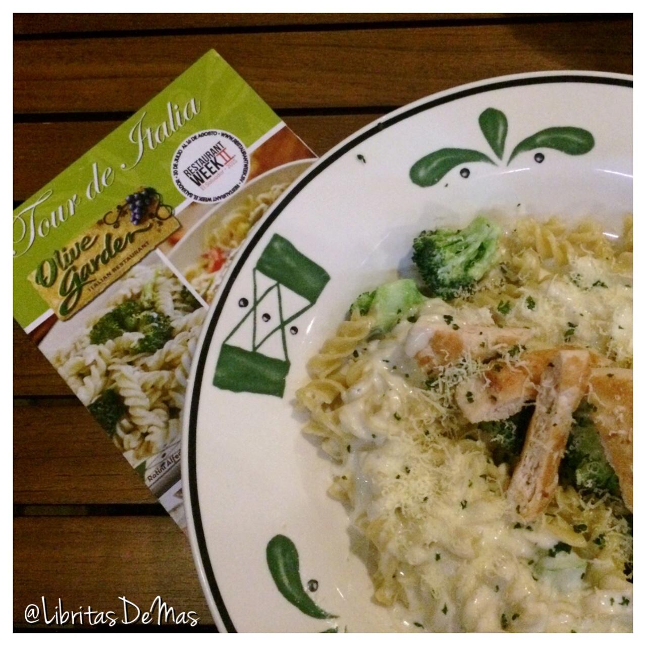 Olive Garden en #RestaurantWeek