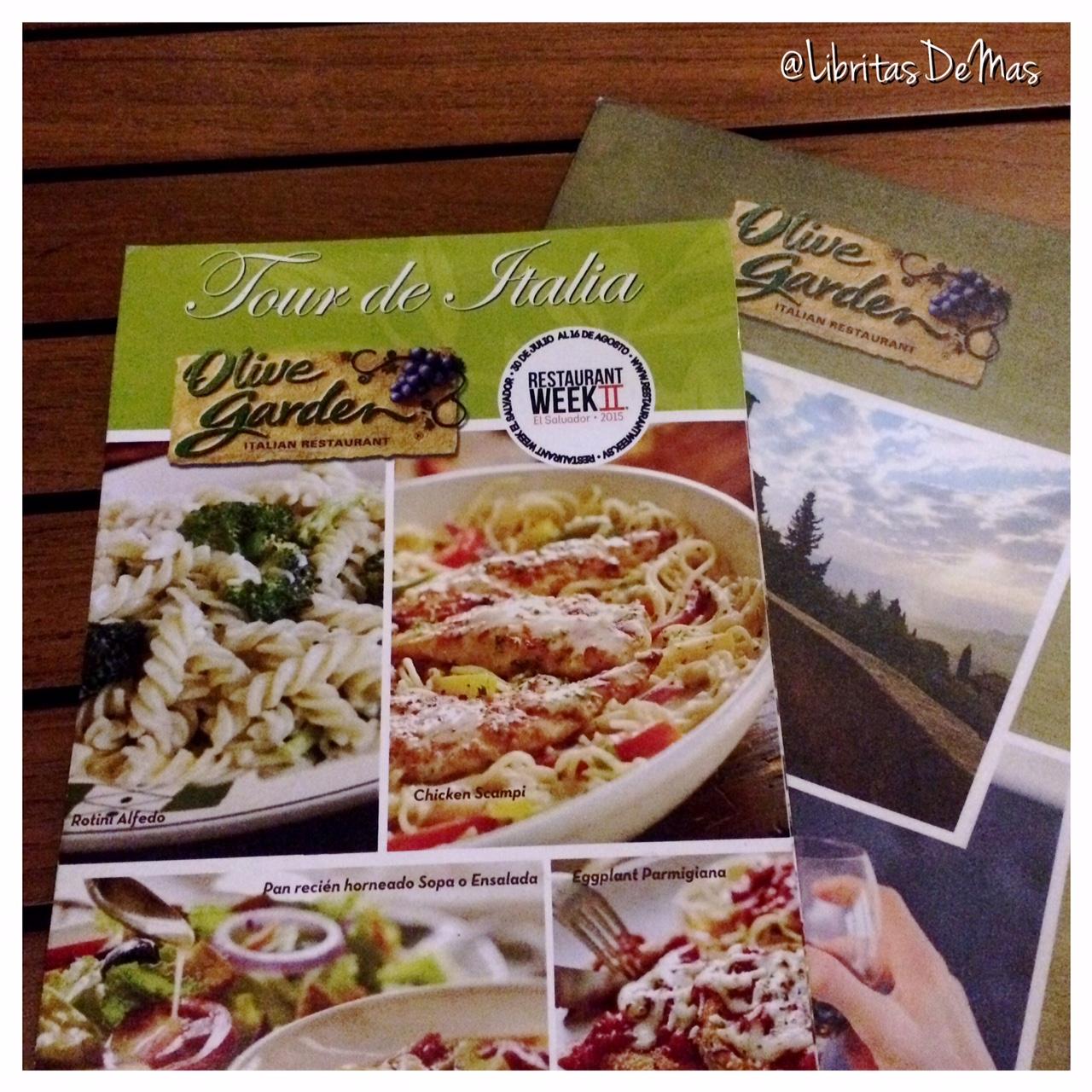 Olive Garden en #RestaurantWeek - Libritas de Más by SuperDritz