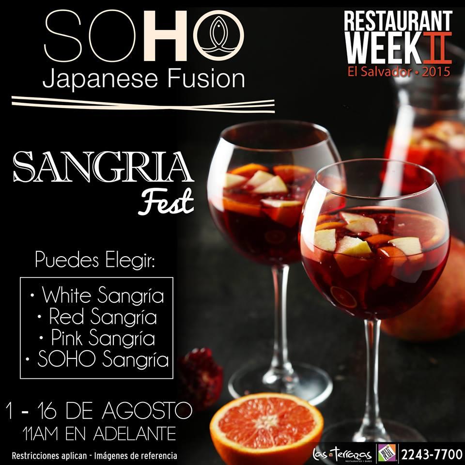 El Salvador, bloggers, restaurant week, food blog, libritas de mas, restaurante, teppanyaki
