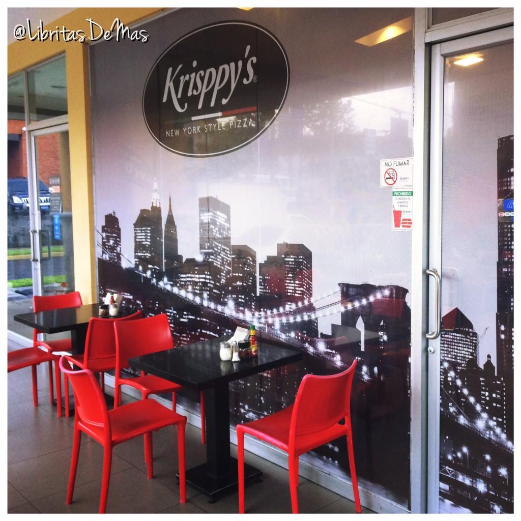 Krisppys, libritas de mas, restaurante, el salvador, pizza, italian food, food, food blog