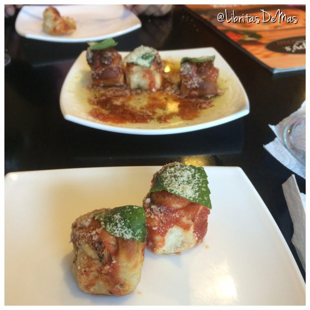 Krisppys, libritas de mas, restaurante, el salvador, pizza, italian food, food, food blog, garlic rolls