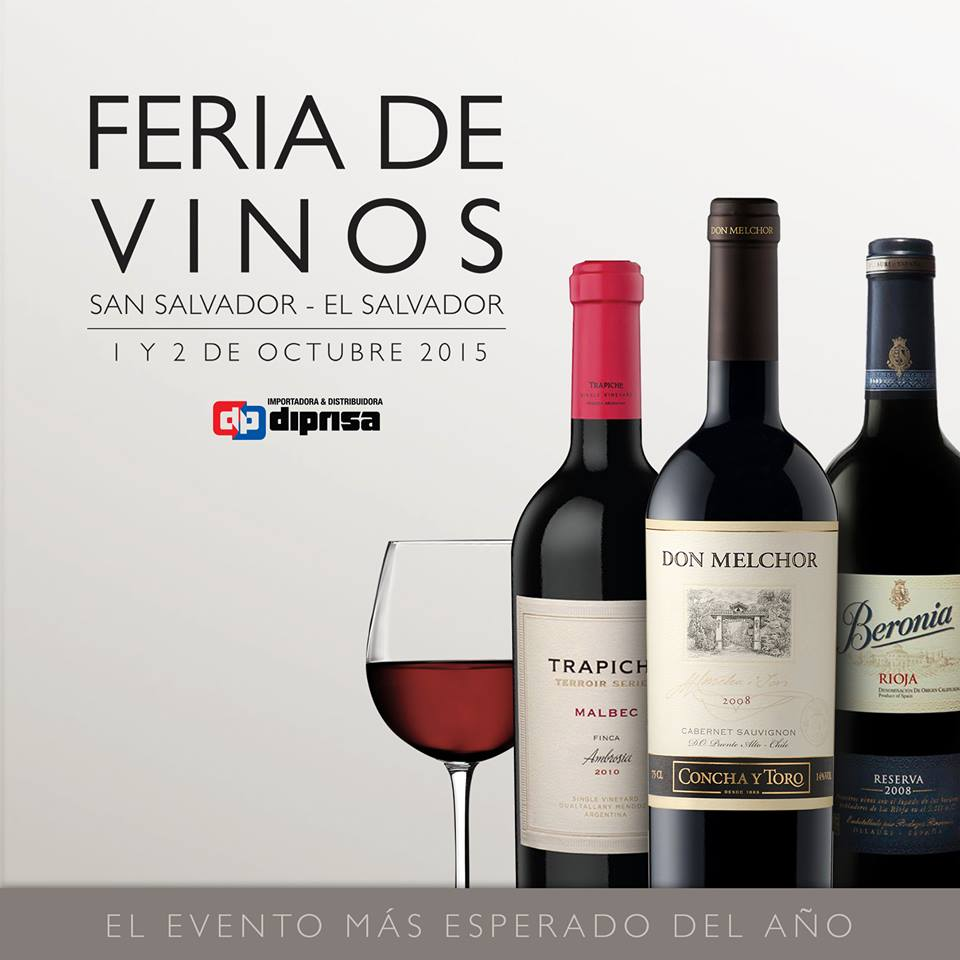 feria de vinos, ad, el salvador, diprisa, wine, vino, libritas de mas, food blog, comida salvadoreña
