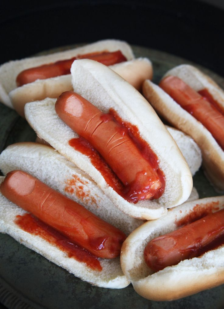 hot dog fingers, halloween, libritas de mas, recipes, cookin, snacks, el salvador, food blog