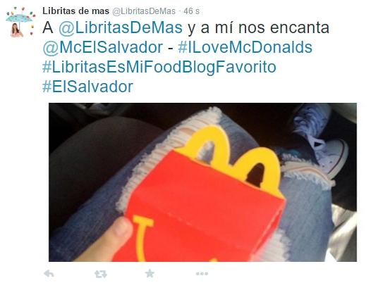 ¿Y si hoy te invito a McDonalds? #ALibritasLeEncantaRegalarComida