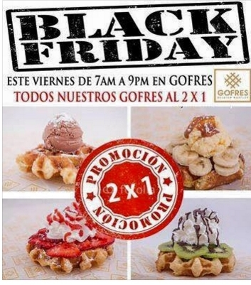 gofres, black friday, el salvador, restaurantes, food blogger , cinnabon