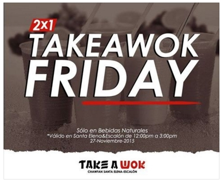 Take a Wok, las brumas, don li, chinese food, sushi king, olive garden, Bennigans, irish , go green, juan valdez, gofres, black friday, el salvador, restaurantes, food blogger , cinnabon