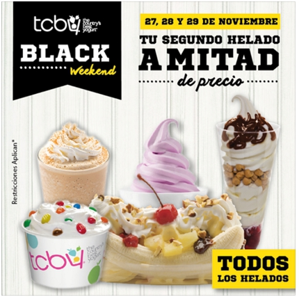 tcby, ice cream, Boca del lobo, olive garden, Bennigans, irish , go green, juan valdez, gofres, black friday, el salvador, restaurantes, food blogger , cinnabon