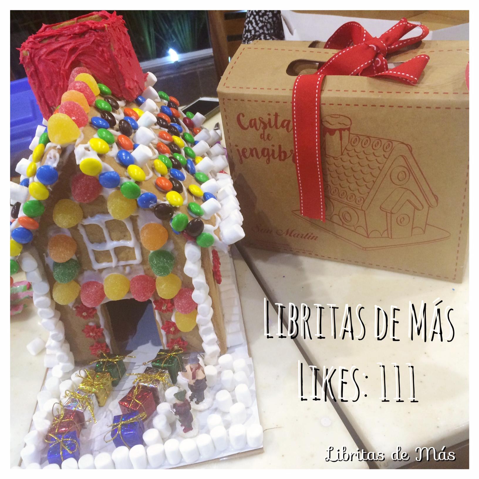 """""""Libritas de Más Gingerbread House Contest"""" – Panadería San Martin"""