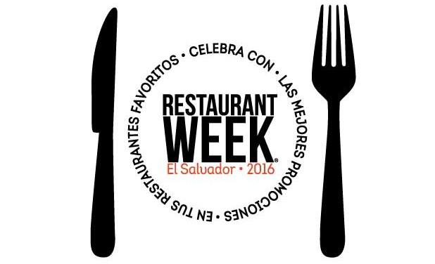 """¡Por 3era vez se celebra """"Restaurant Week"""" en El Salvador!"""
