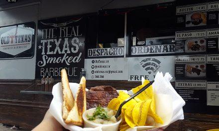 El Old Texas y lo chivo que encontré en El Food Fest