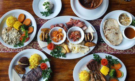 Café del Volcán – Cocina típica entre jardines de Hortensias