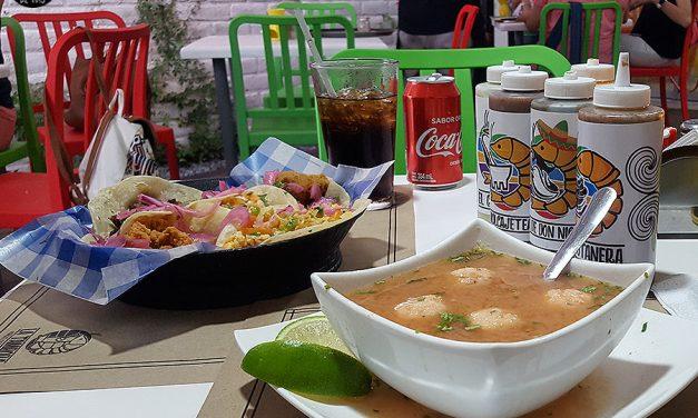 Un restaurante de mariscos con sabor a México – La Tambora