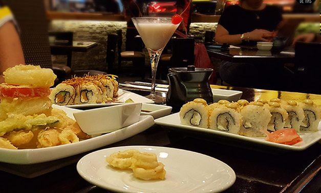 Mi madre y sus antojos de sushi, menú for 2 – SOHO