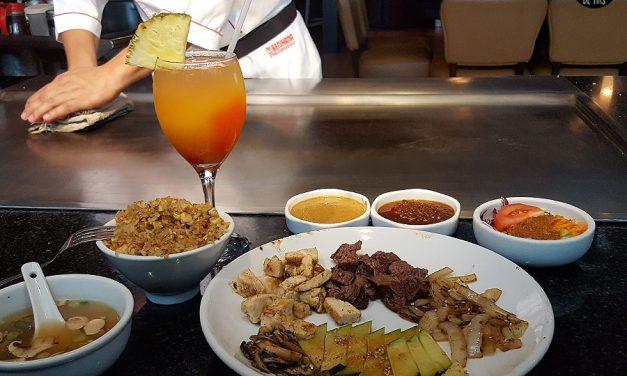 La experiencia Teppanyaki en Benihana – Lunch Date con Mr.R