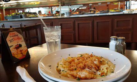 El famoso Parmesan Chicken Pasta de Ruby Tuesday