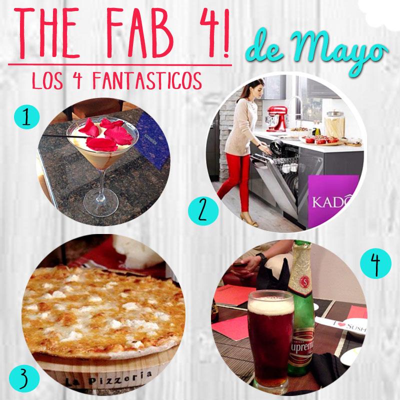 Los 4 Fantasticos… de Mayo !