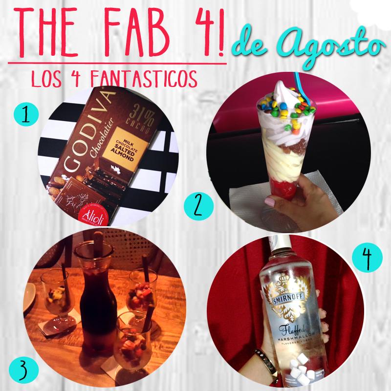 Los 4 Fantasticos… de Agosto!