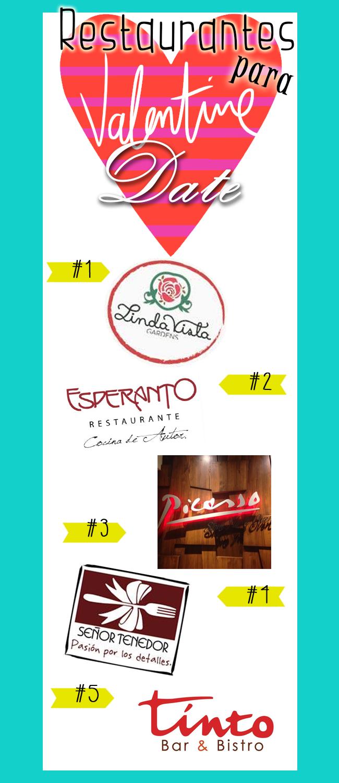 Mis 5 restaurantes favoritos para #DatesSuperRomanticonas.