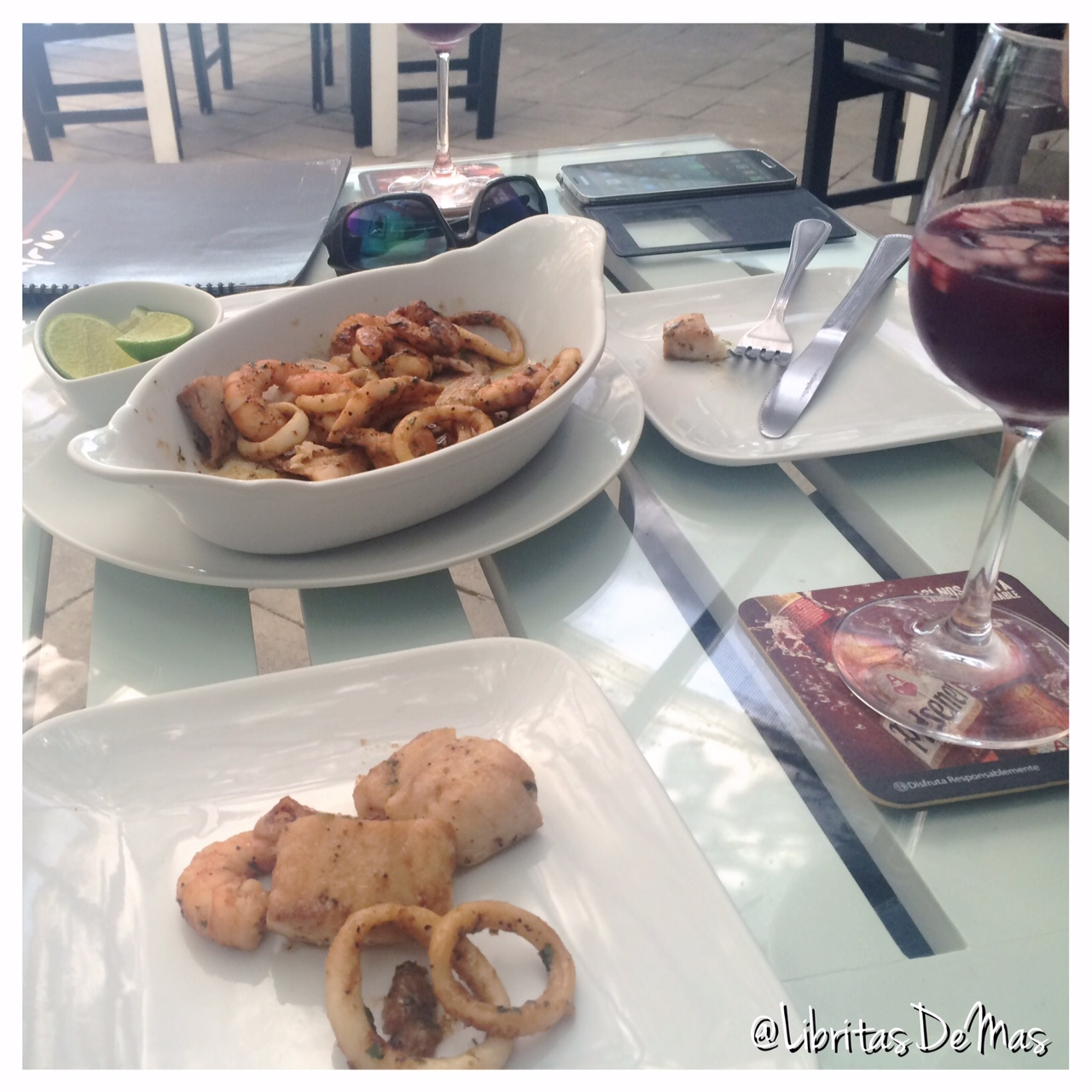 Buscando un sabadito relax… ATRIO #FoodReview