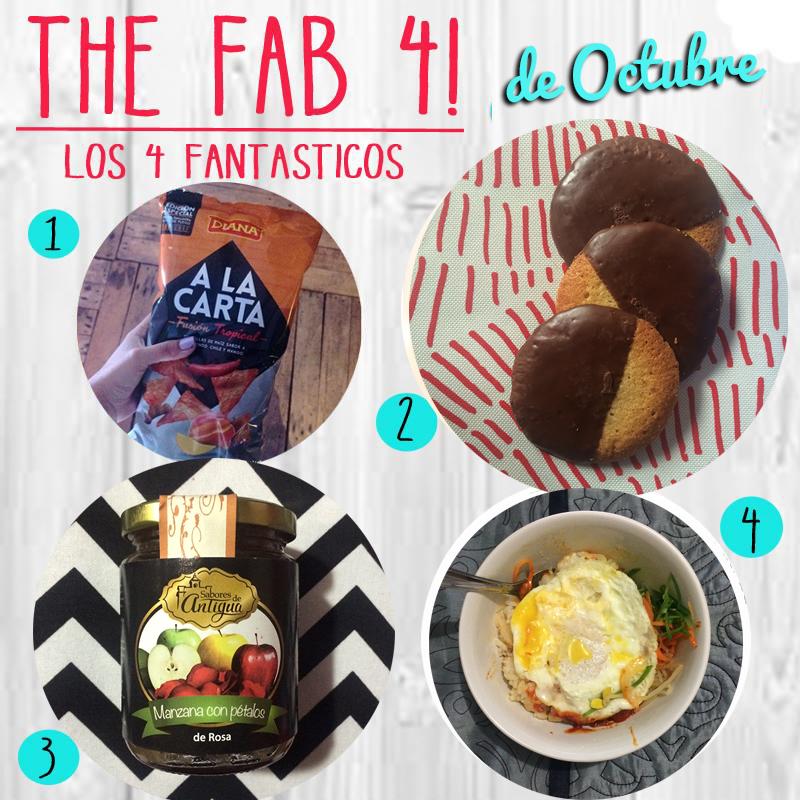 Los 4 Fantasticos… de Octubre!