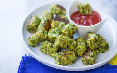 Broccoli Tater Tots en #HappyRecipes