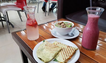 A Quicky #LunchiesMunchies en Go Green del Paseo