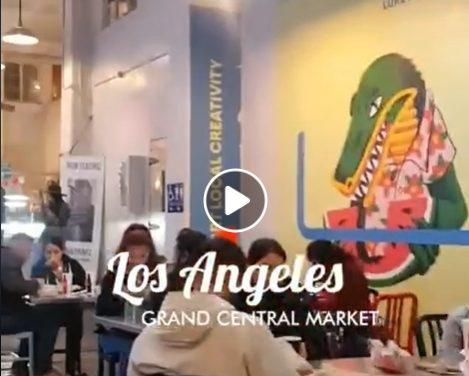 ¡El GRAND CENTRAL MARKET en LOS ÁNGELES!